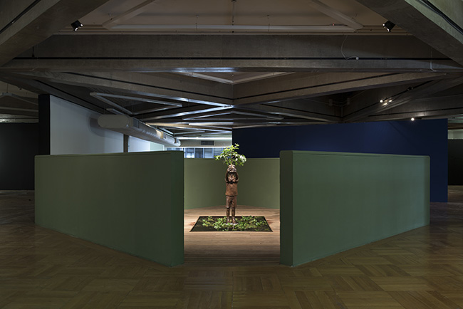 flavio cerqueira, paço das artes, casa triangulo, atelie fidalga, escultura