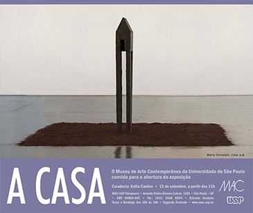 flavio cerqueira, casa triangulo, escultura, mac usp