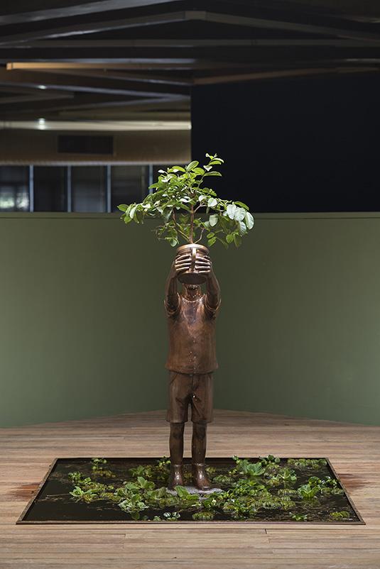 flavio cerqueira, casa triangulo, escultura, sculpture, contemporary artist