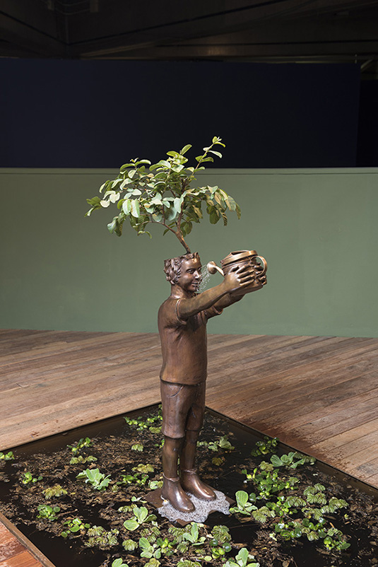 flavio cerqueira, casa triangulo, arte contemporanea, contemporary artist, escultura, sculpture