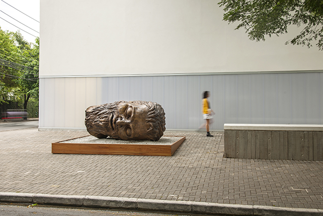 flavio cerqueira, escultura, casa triangulo, sculpture contemporary art